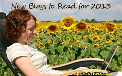 new blogs to read for 2013