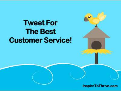 Customer service the Twitter way