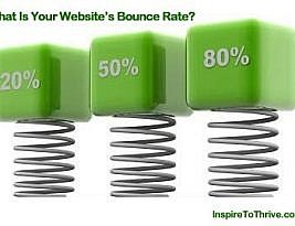Website Bounce Rate Where Low Numbers Rule
