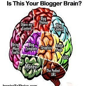 bloggers brains