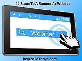 11 Steps to Create a Successful Webinar