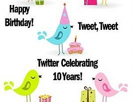10 Valuable Tidbits About Twitter Celebrating It's 10th Year