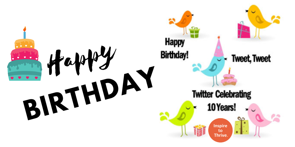 Twitter celebrating 10th birthday