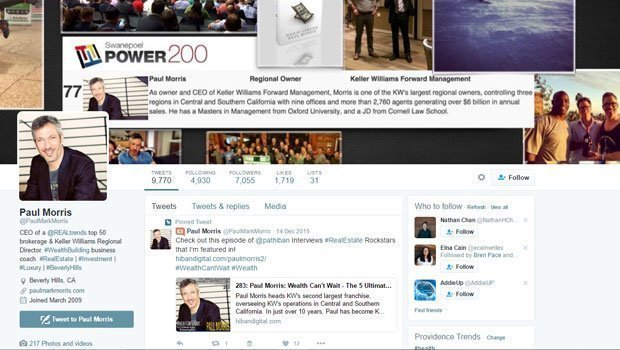 Real-Estate-Twitter-Profile