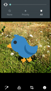 size your Twitter sticker