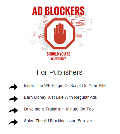 adblock for publishers