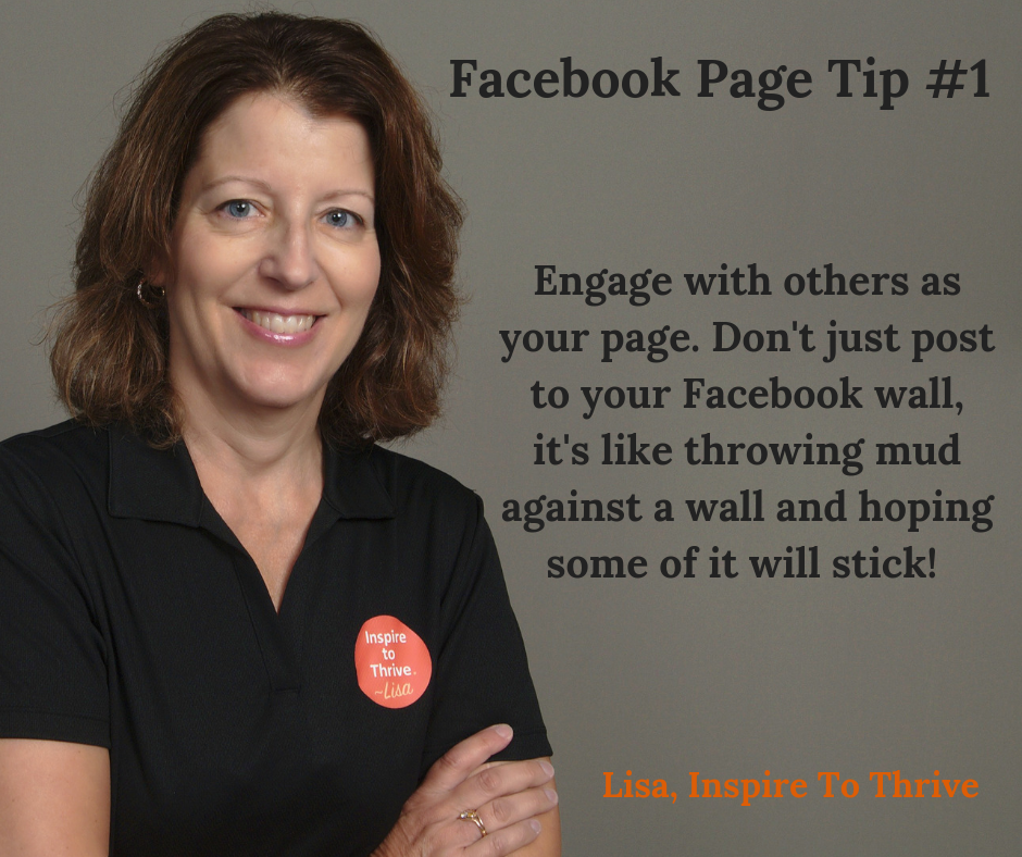 Facebook page tips