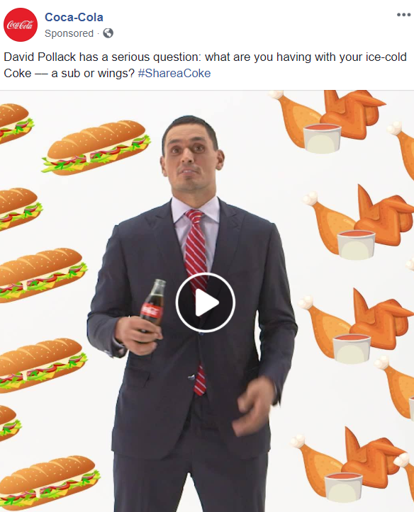Facebook page video ads