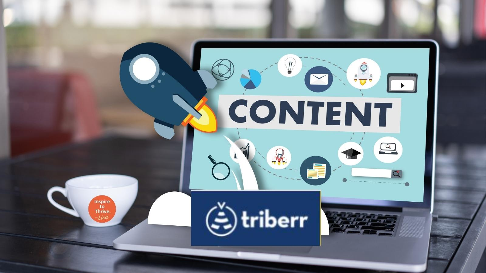 how to use triberr for content curation