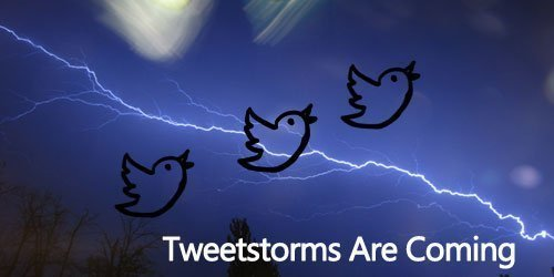 How to make a tweetstorm