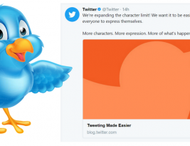 Twitter 280 Character Count is Now Here For All To Tweet Away