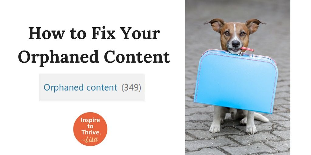 Fix orphaned content