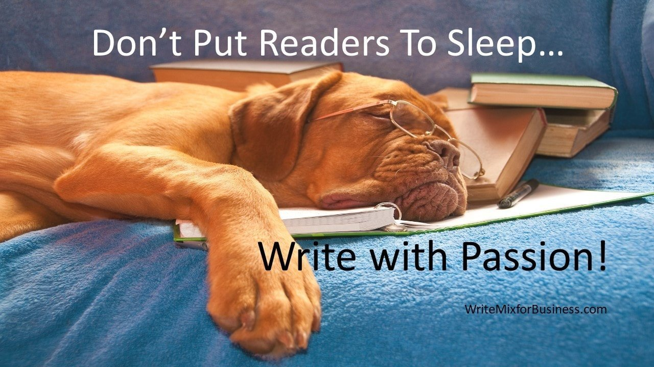 don't put your readers to sleep with your ebook