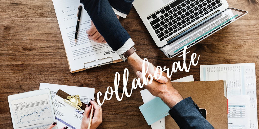 collaborate with others for your blog