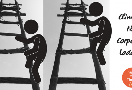 climbing the coporate ladder