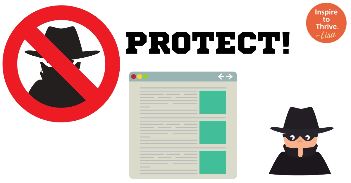 protect your blog