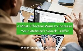 DIY SEO Tips: 4 Most Effective Ways to Increase Your Website's Search Traffic In 2019