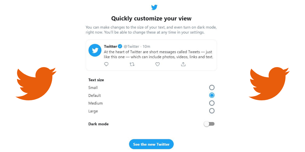 customize your Twitter feed
