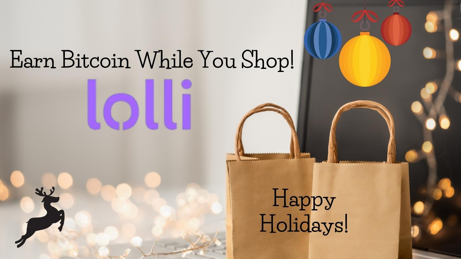 Earn bitcoin while you shop with Lolli