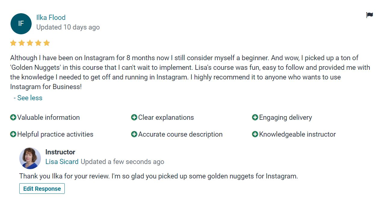 review of social media training courses