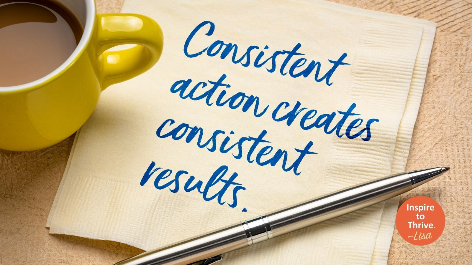 consistency in marketing your small business