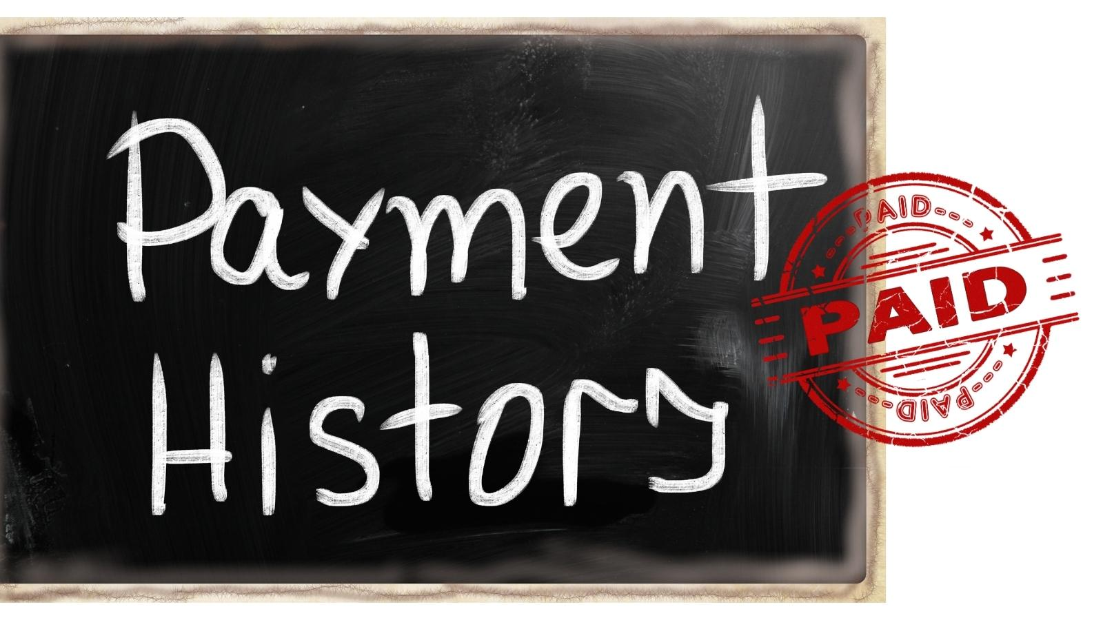 credit payment history