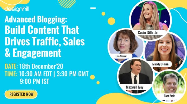 online blogging event