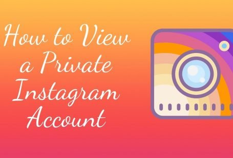 how to view a private instagram account