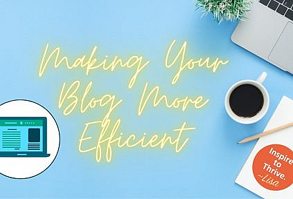 make your sure fire blog more efficent