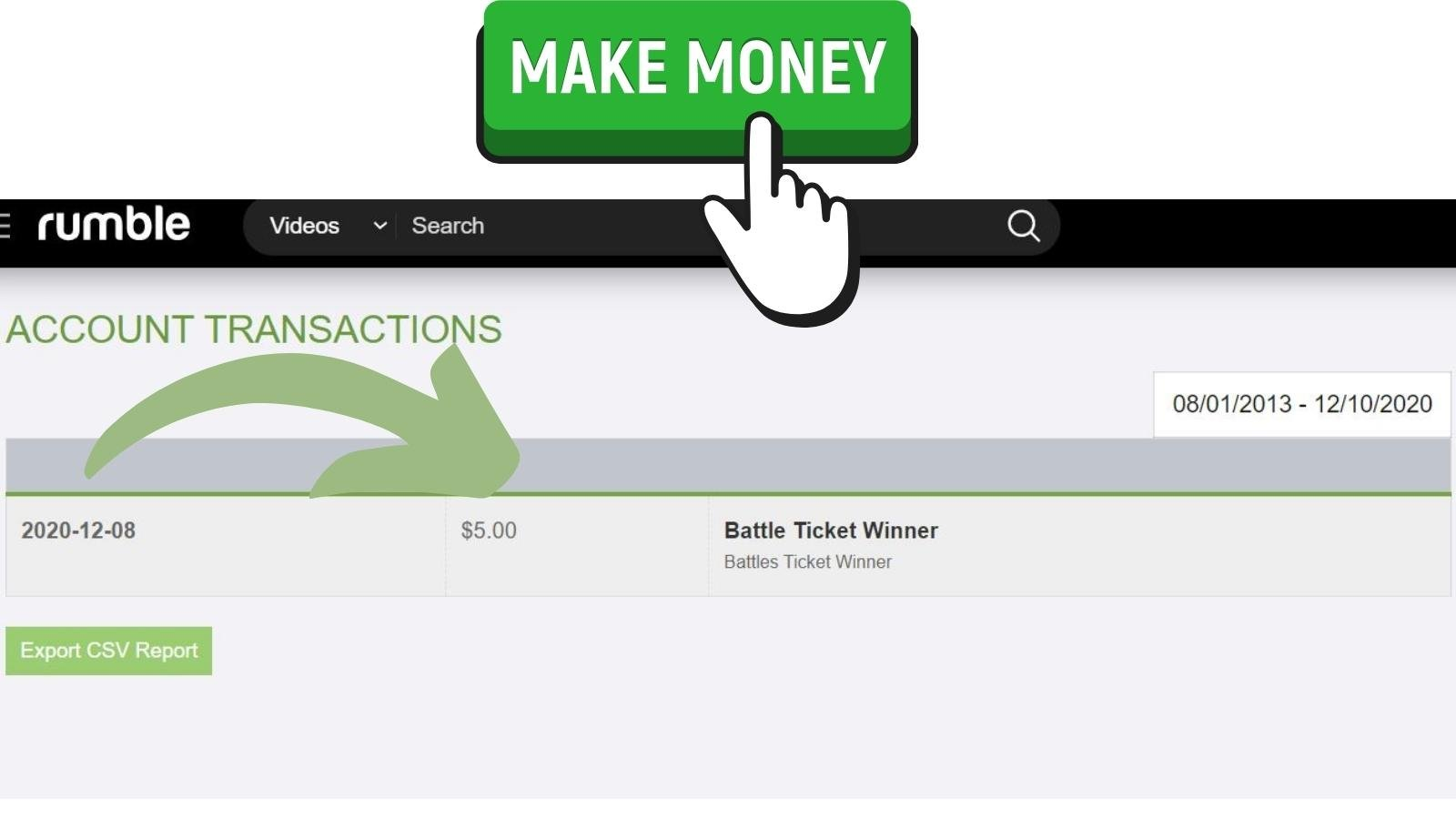 How to make money on Rumble The Online Video Platform