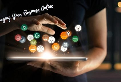 managing your business online