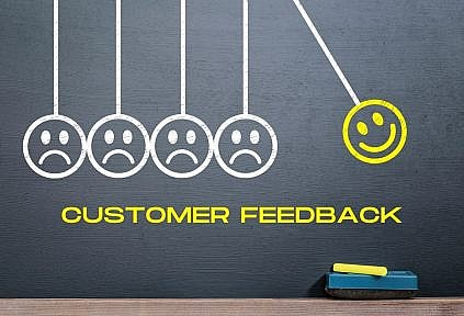 listen to customer feedback