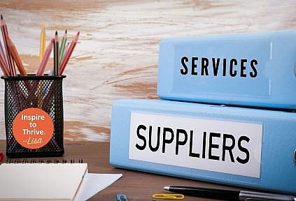 choosing the suppliers and services