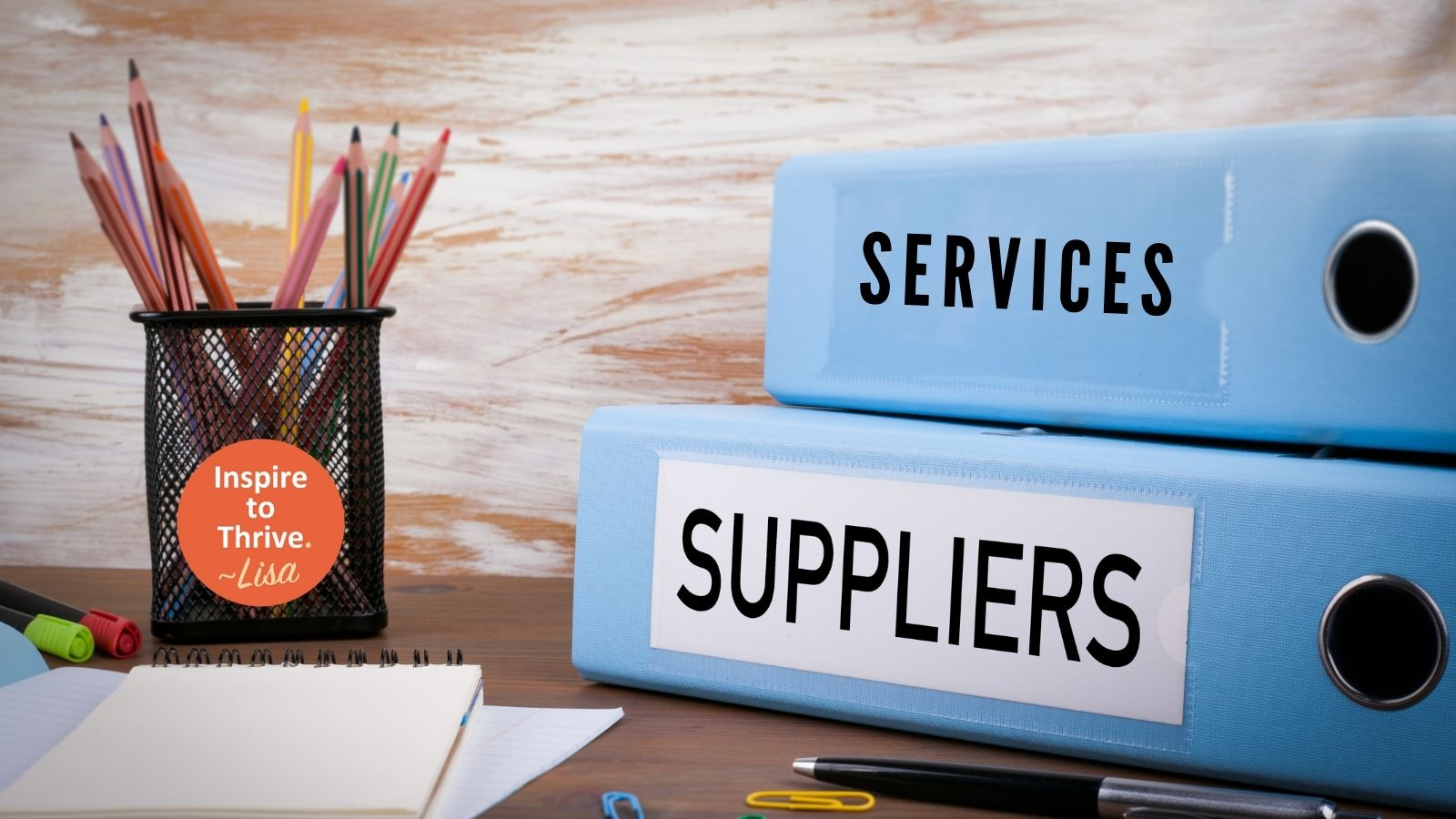 choosing the right suppliers and services