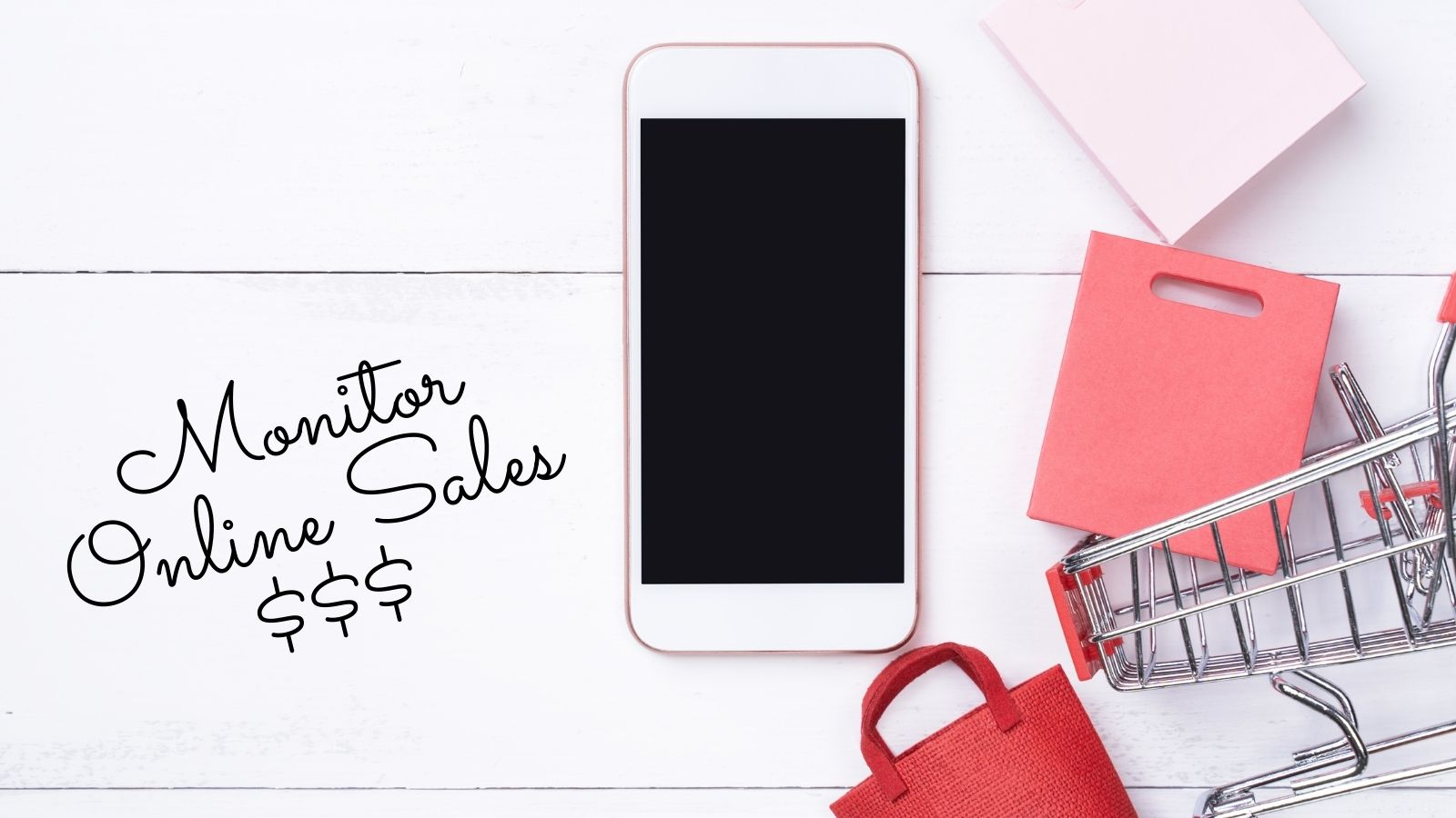 monitor your online sales