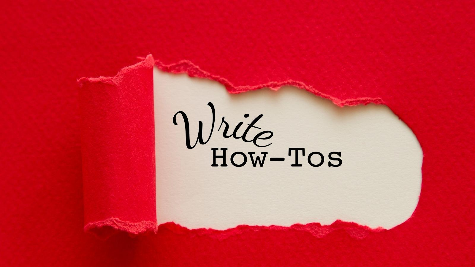 write how to posts for getting your blog noticed