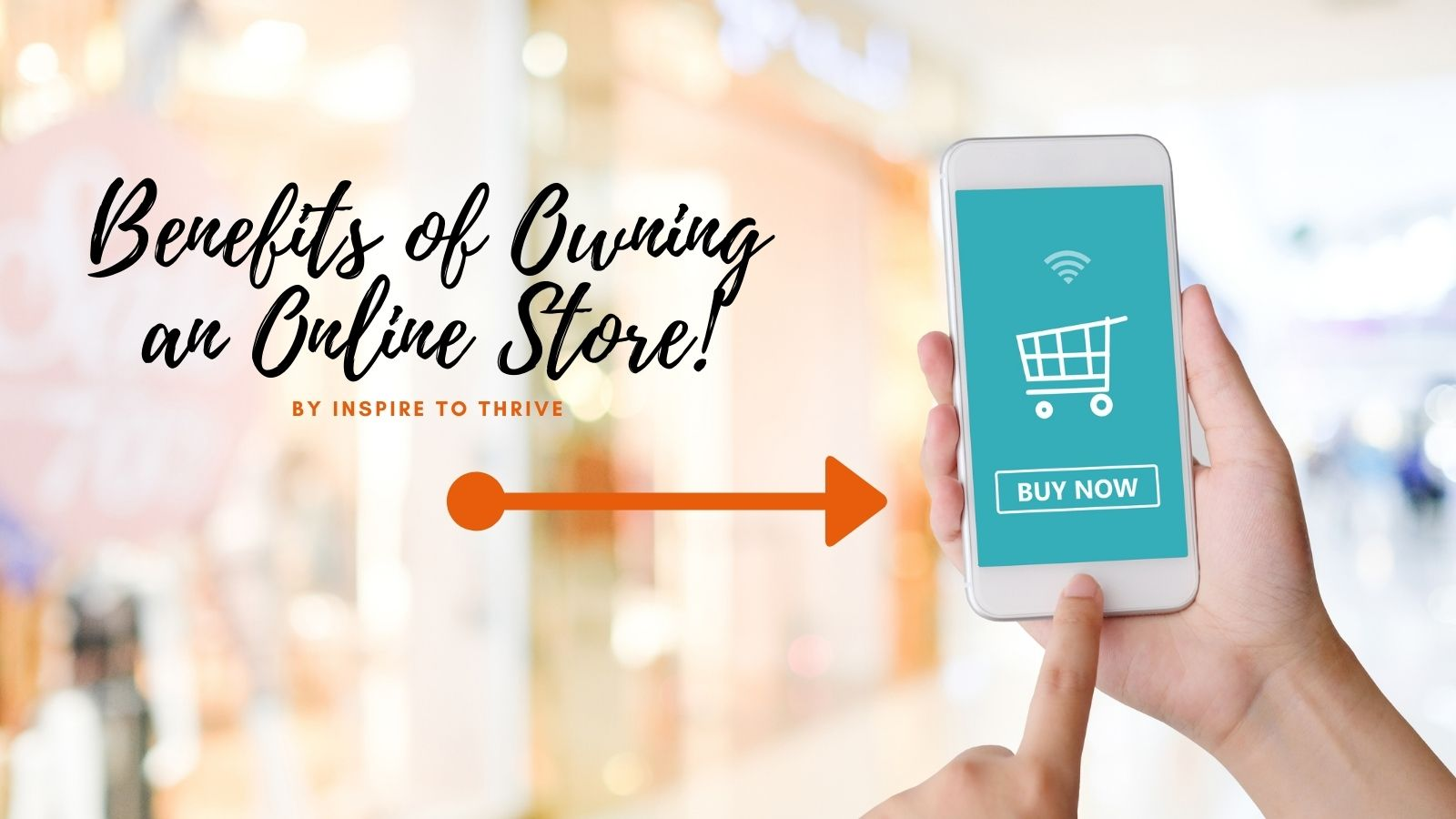 benefits of owning an online store