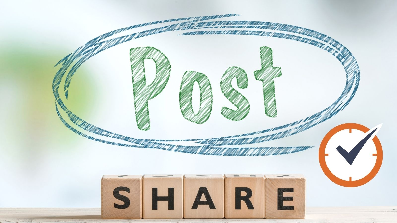 race to post and share blog posts
