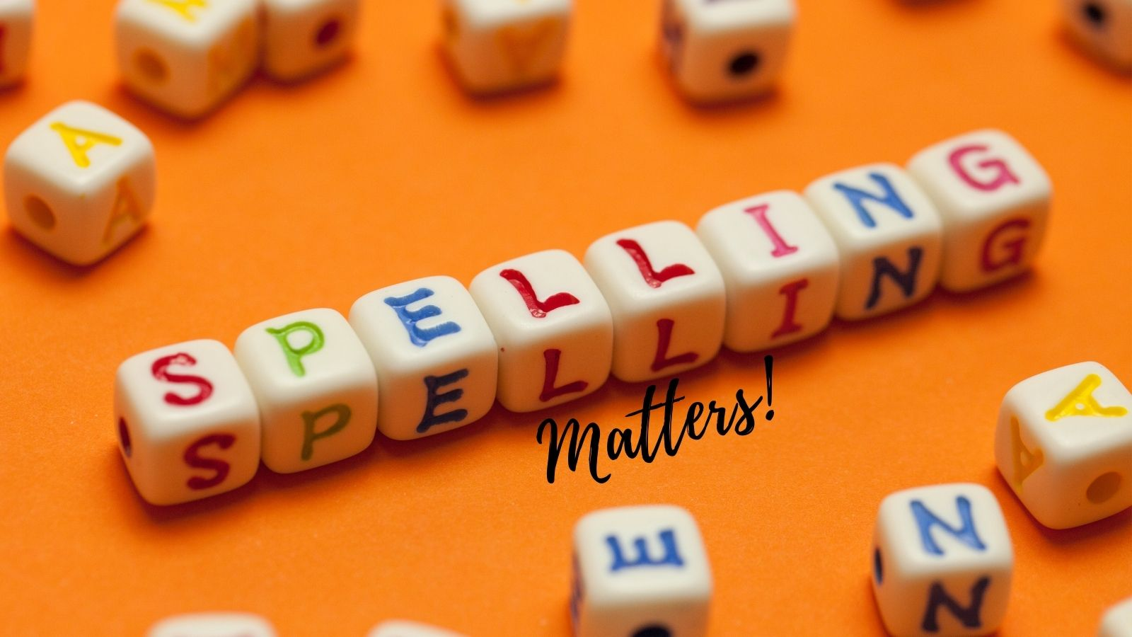 spelling matters on blog categories and tags