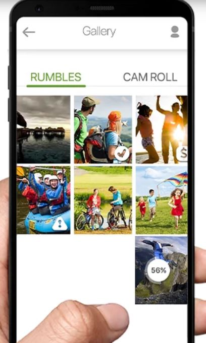 What is the Rumble camera?