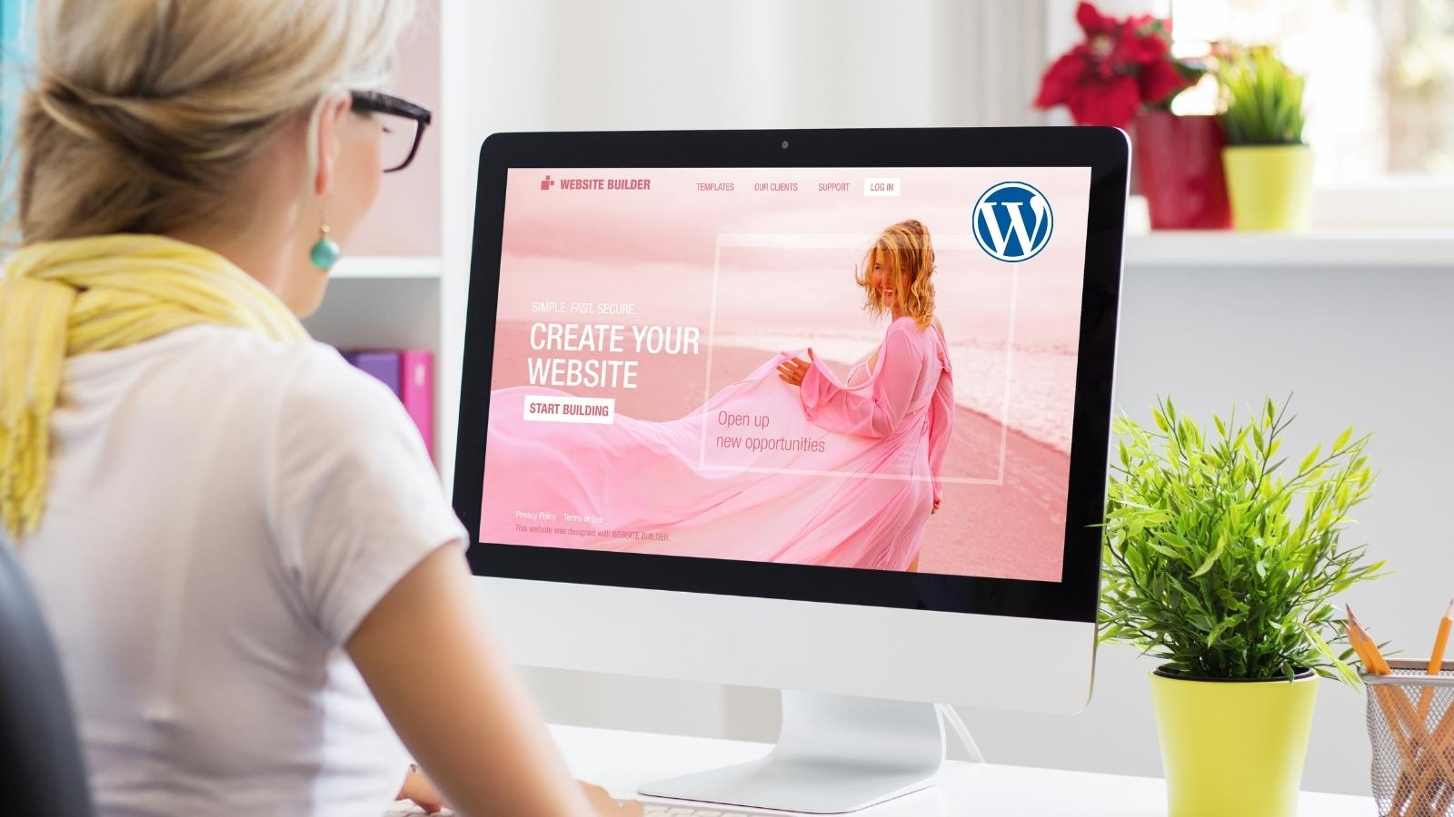 using wordpress for images