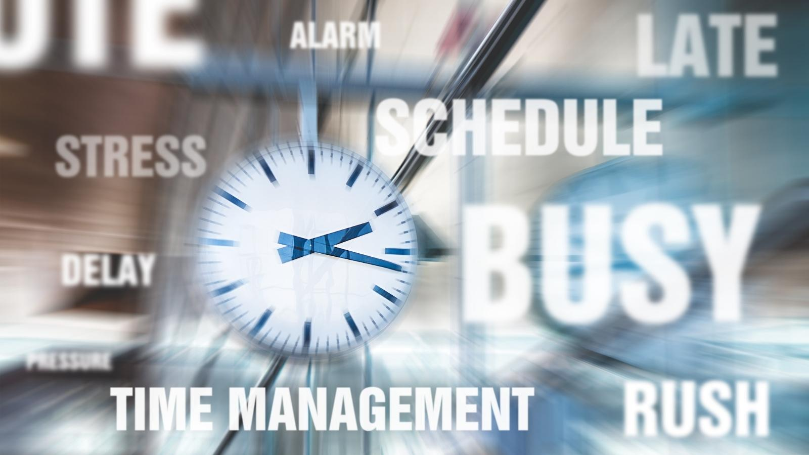 time management with a consultant