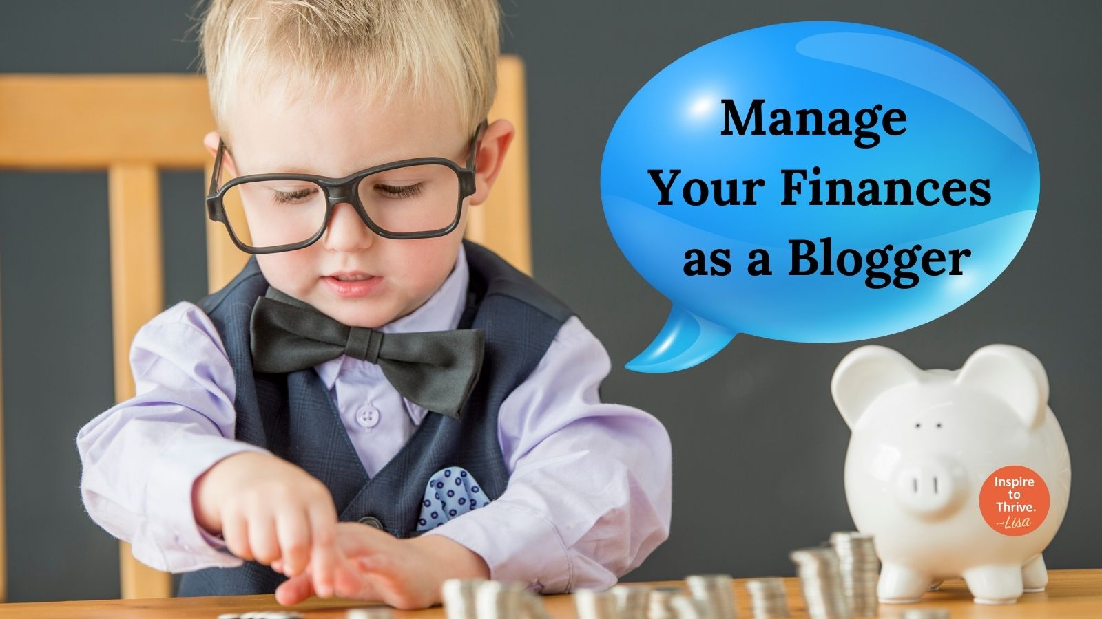 Manage your finances as a freelance blogger