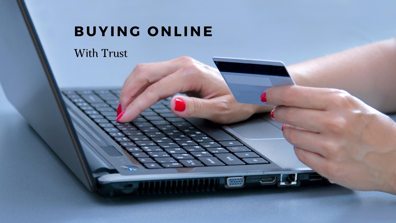 buying online with trust