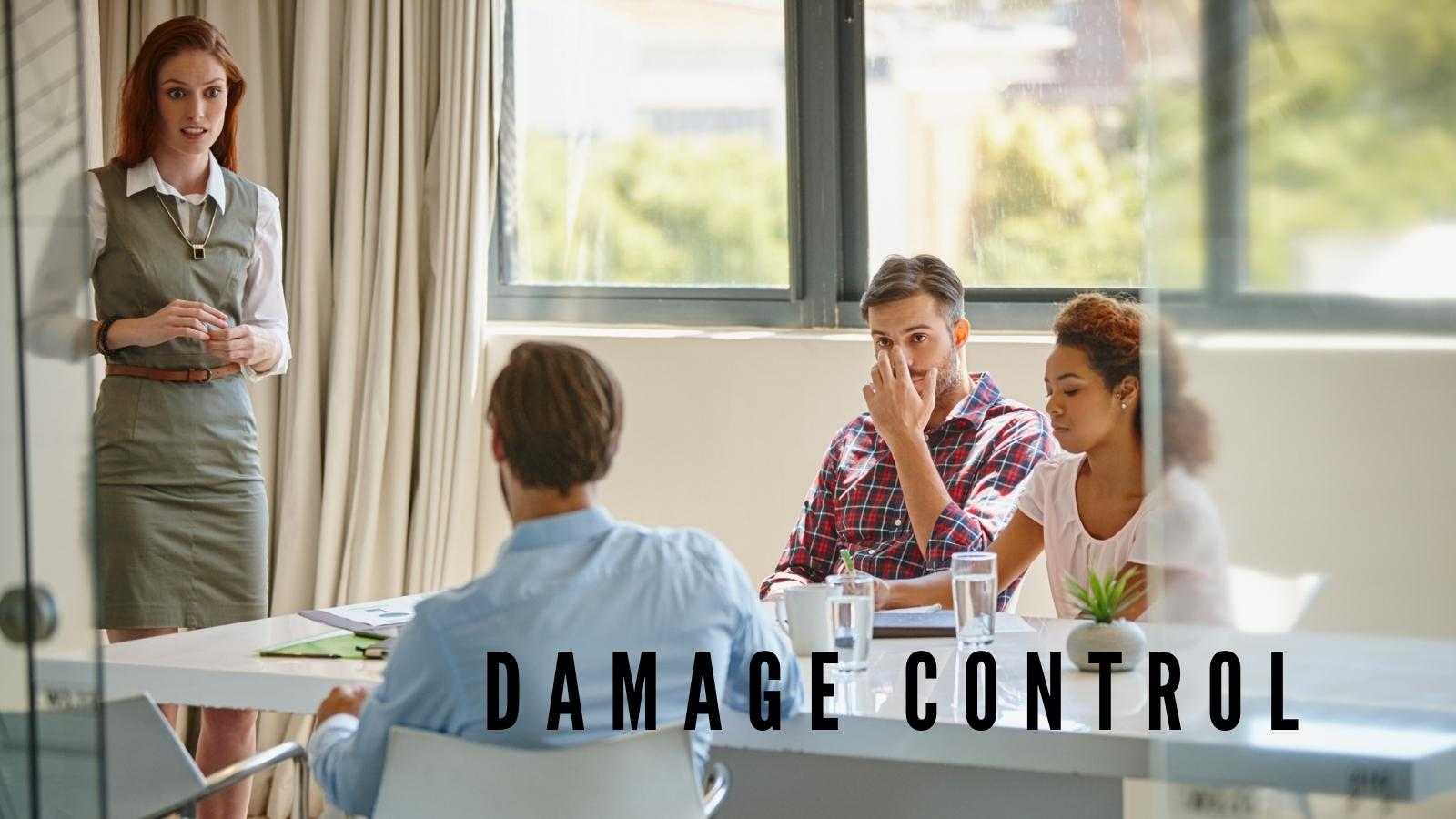 damage control with email marketing