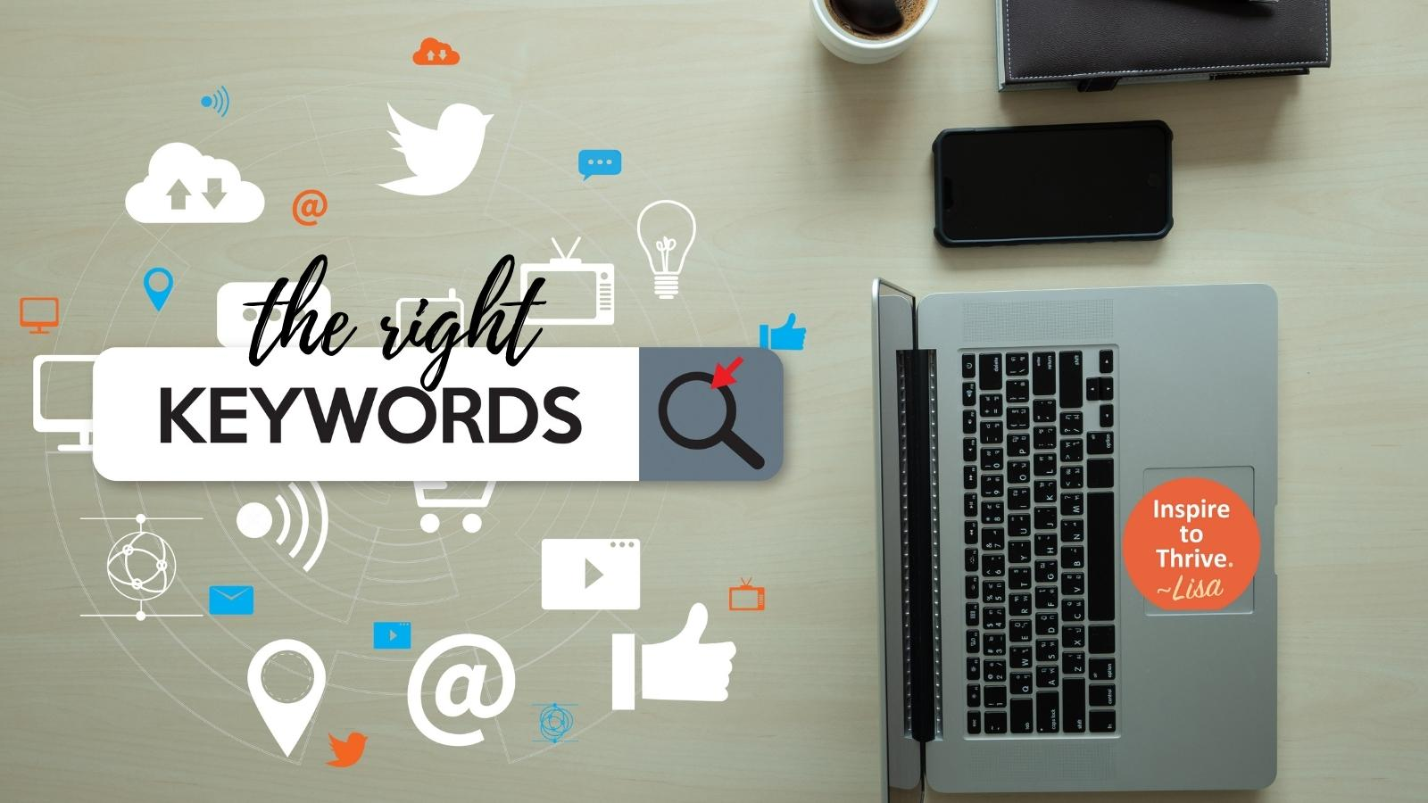 the right keywords to use SEO for your blog