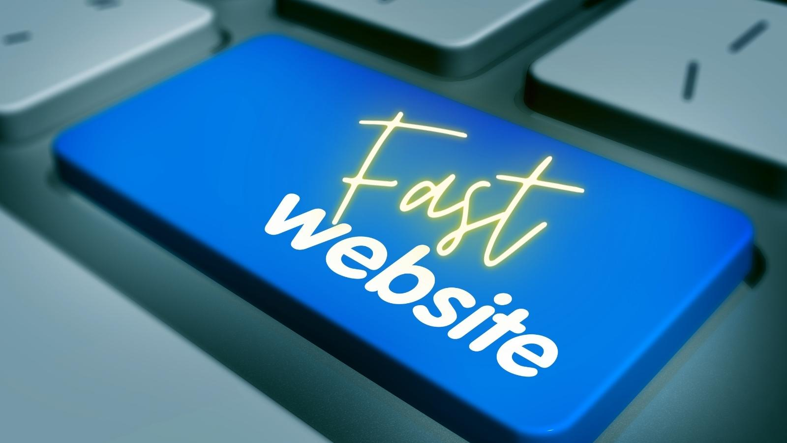 fast website to avoid troubles of an e-commerce company