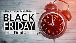 How to Use Social Media for the Best Black Friday Deals