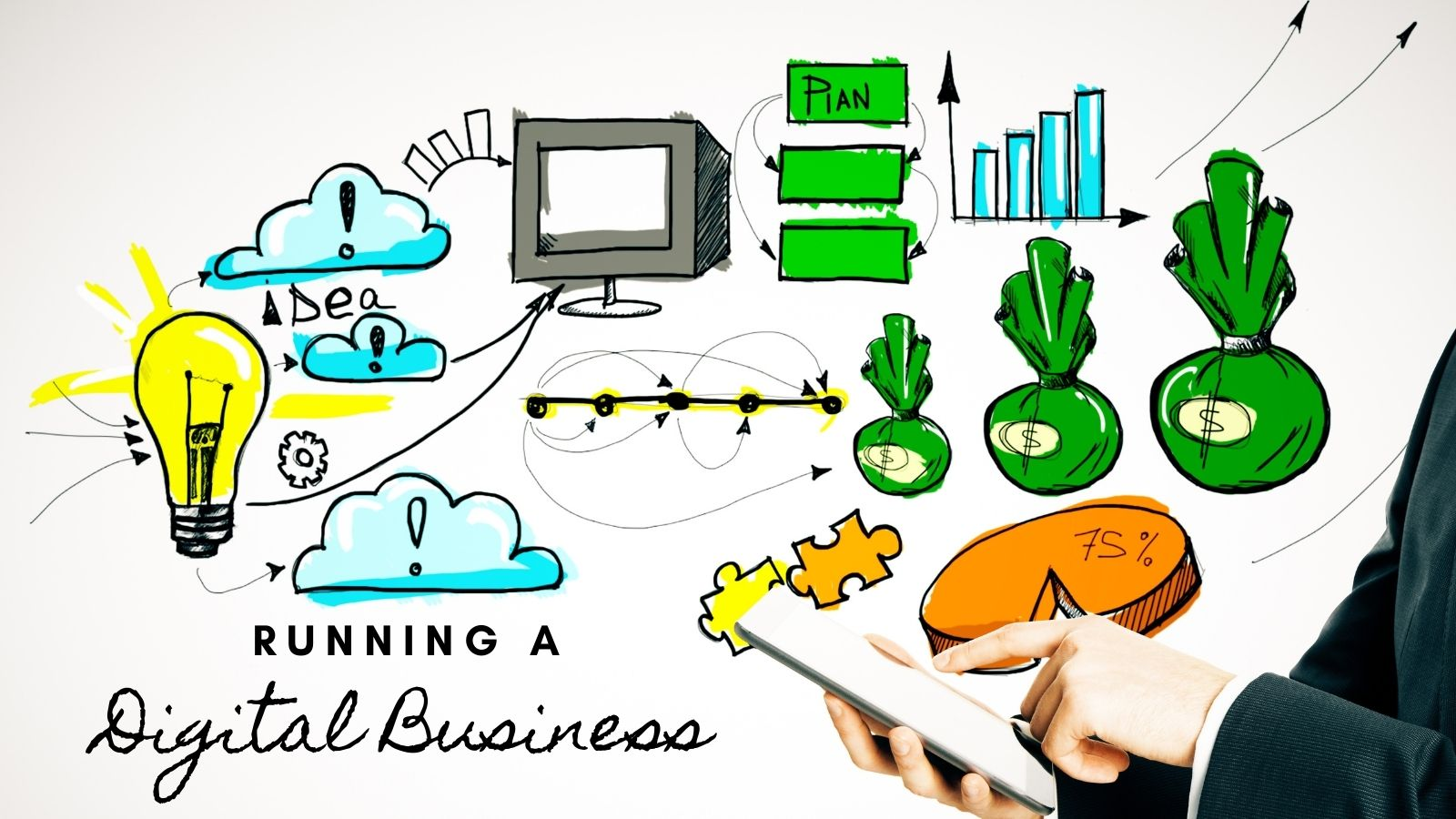 running a digital business is not easy