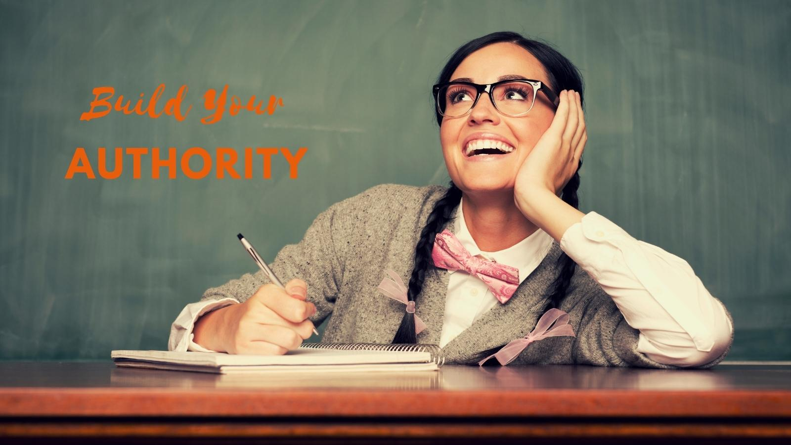 stand out as a legit authority online